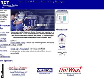 nde-ed.org screenshot
