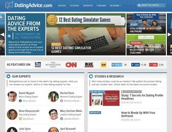 datingadvice.com screenshot