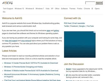 askvg.com screenshot