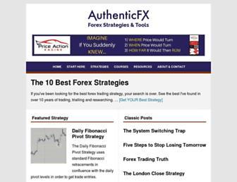 authenticfx.com screenshot