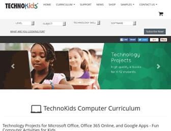 technokids.com screenshot