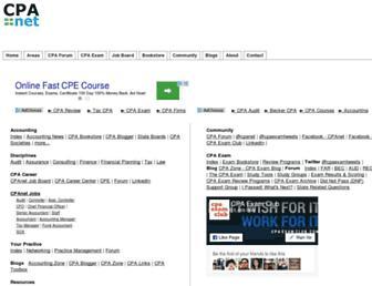 cpanet.com screenshot