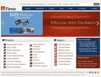 sitime.com screenshot
