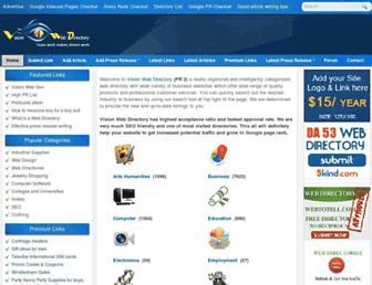 Thumbshot of Visionwebdirectory.com