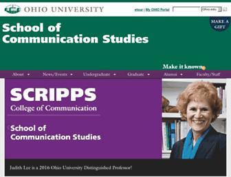 coms.ohiou.edu screenshot