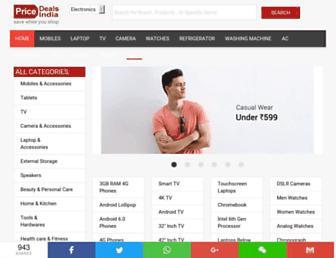 Thumbshot of Pricedealsindia.com