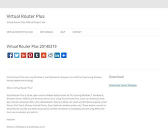 Thumbshot of Virtualrouterplus.com
