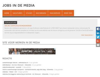 jobsindemedia.nl screenshot