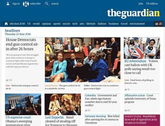 guardian.co.uk screenshot