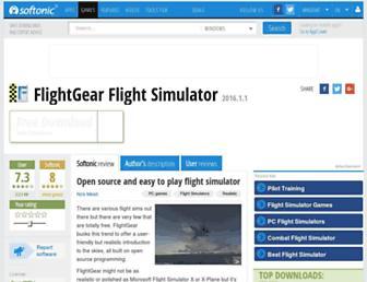 flightgear-flight-simulator.en.softonic.com screenshot