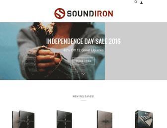 soundiron.com screenshot