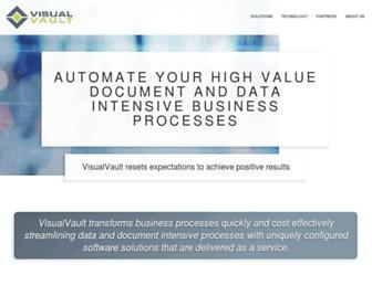 visualvault.com screenshot