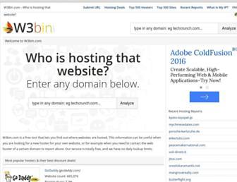 w3bin.com screenshot