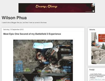 wilsonphua.blogspot.com screenshot