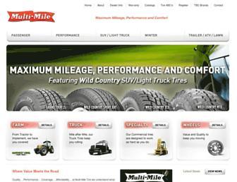 multimiletires.com screenshot