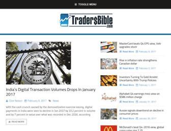 tradersbible.com screenshot