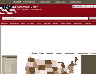 chemicalunion.com screenshot