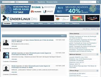 under-linux.org screenshot