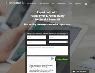 exceleratorbi.com.au screenshot