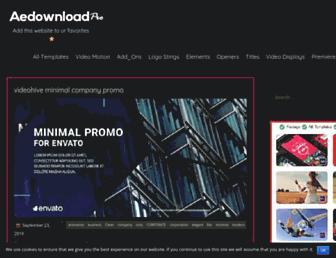 aedownloadpro.com screenshot