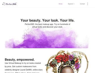 perfect365.com screenshot