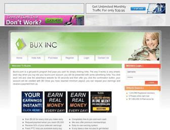 Thumbshot of Buxinc.com
