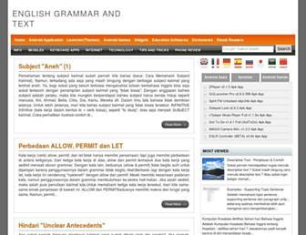 englishgrammerandtext.blogspot.com screenshot