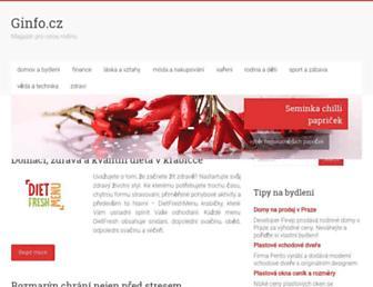 Thumbshot of Ginfo.cz