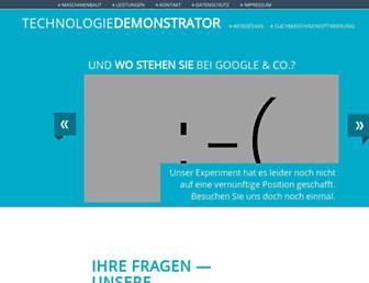 Main page screenshot of durad.de