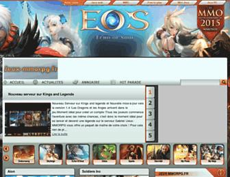 Thumbshot of Jeux-mmorpg.fr