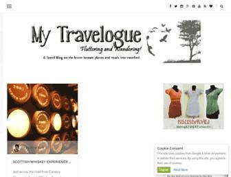 travel.bhushavali.com screenshot