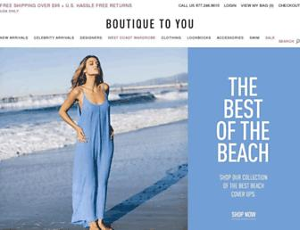 Thumbshot of Boutiquetoyou.com