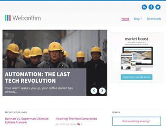 Thumbshot of Weborithm.com
