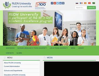 Thumbshot of Rudn.ru