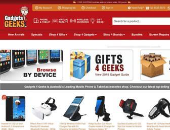 Thumbshot of Gadgets4geeks.com.au
