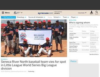 highschoolsports.syracuse.com screenshot