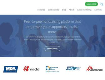 Thumbshot of Donordrive.com