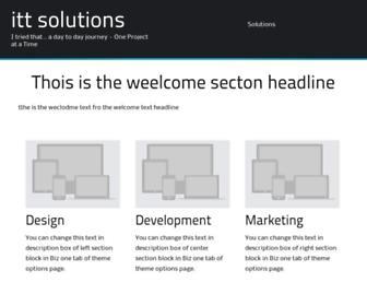 Thumbshot of Ittsolutions.com