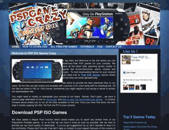 Thumbshot of Pspgamecrazy.com