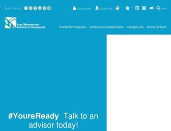 lwtech.edu screenshot