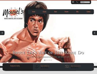 Main page screenshot of defend.net