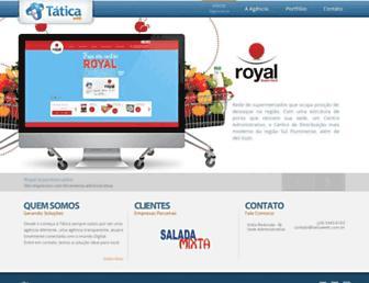 Thumbshot of Taticaweb.com.br