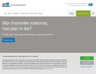 consumentenbond.nl screenshot