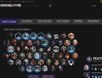 Thumbshot of Heroesfire.com