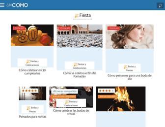 fiesta.uncomo.com screenshot