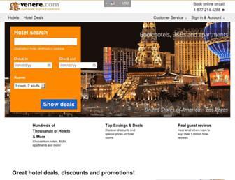 venere.com screenshot