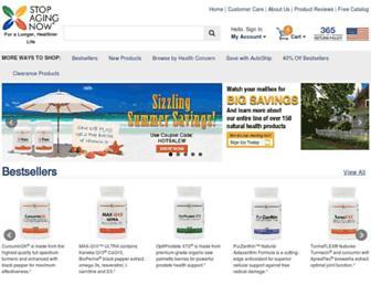 Thumbshot of Stopagingnow.com