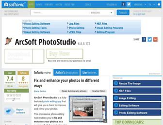 arcsoft-photostudio.en.softonic.com screenshot