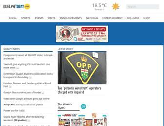 guelphtoday.com screenshot