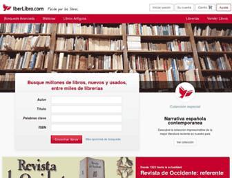 iberlibro.com screenshot